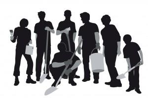 muncitori siluete 2